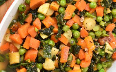 Lightly Cook Your Dog's Vegetables